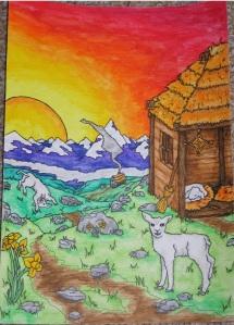 Sabbat Painting Imbolg